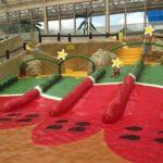 梅雨でも東京サマーランドの室内プールで遊ぶ!おむつの幼児でも大丈夫