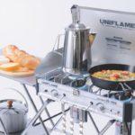 キャンプで快適に料理するには?キッチンレイアウトを考えてみた。