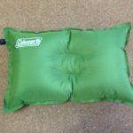 キャンプ用の枕を買ってみた。コールマン コンパクトインフレーターピローⅡのレビュー