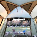 年末は成田ゆめ牧場キャンプ場で過ごしました。