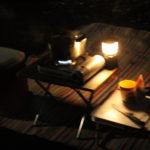 冬キャンプ用に、ロースタイルキッチンを作ってみました。シャトルシェフなら1口コンロでも楽々ごはん。