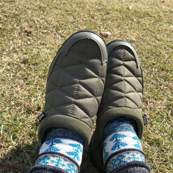 ワークマンの防寒ブーツ「ケベック」は、冬キャンプに最高!1900