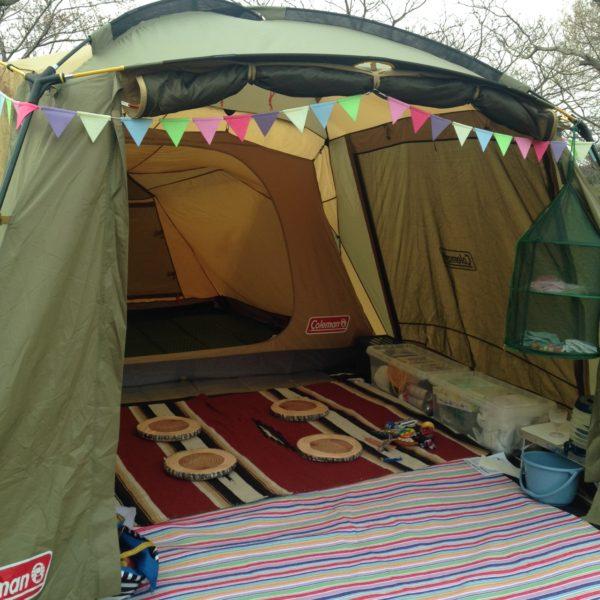 キャンプ ラグマット