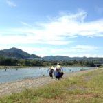 上大島キャンプ場@相模原 安くてきれいなおすすめキャンプ場でテントの試し張り