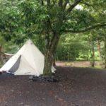 お盆休みでもガラガラのキャンプ場に行ったレポ。その1