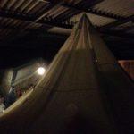 おいしいキャンプ場の全天候型サイト泊まってきました!雨でも台風でも屋根付きだから安心