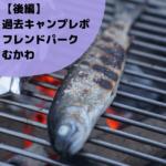 【後編】フレンドパークむかわで、炭火でネギと魚を焼く。過去キャンプレポ