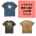 ハマさんが選ぶキャンプで着たい2020春夏Tシャツ(チャムス・ノースフェイス・KAVUなど)